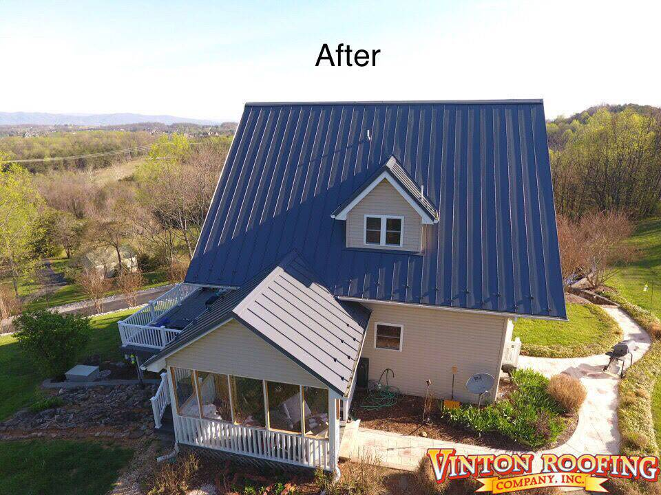 After New Roofing
